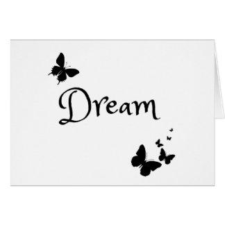 Cute Butterfly Dream Card