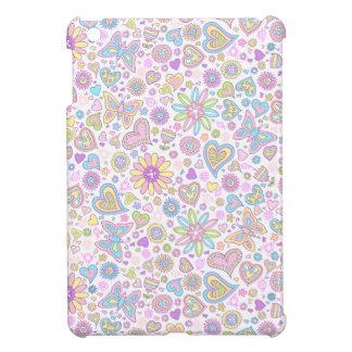 Cute Butterfly Flowers iPad case