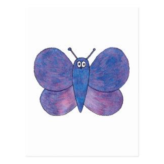 Cute Butterfly. Postcard