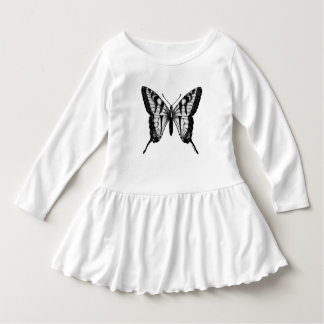 Cute Butterfly Wings Girls Dress