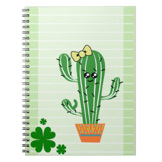 Cute cacti Photo Notebook (80 Pages B&W)