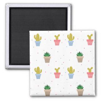 Cute Cactus Magnet
