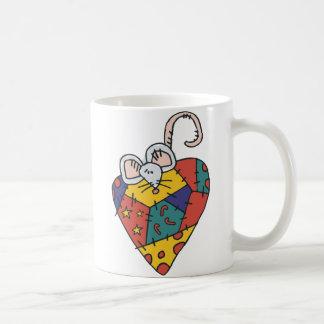 Cute Calico Mouse Coffee Mug