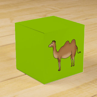 cute camel favor box