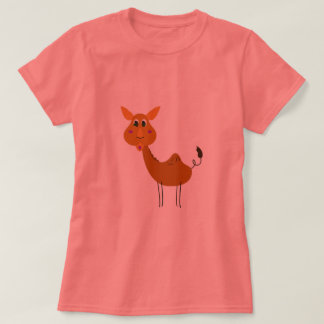 Cute camel handpainted / Tshirt