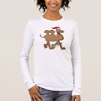 Cute Camel Hump Day Christmas Long Sleeve T-Shirt