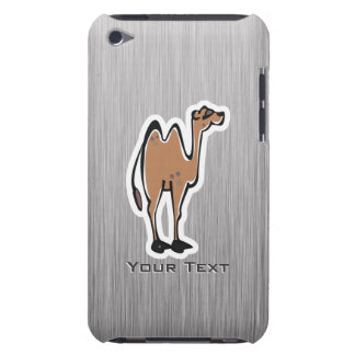Cute Camel; Metal-look Barely There iPod Cases