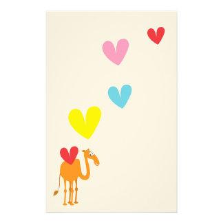 Cute Camel Stationery