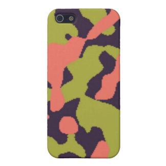 Cute Camo iPhone 5/5S Cover