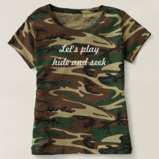 Cute camo t-shirt