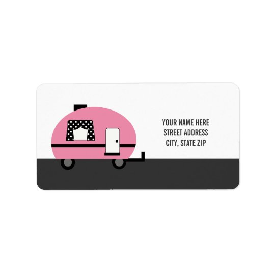Cute Camper Address Mailing Labels