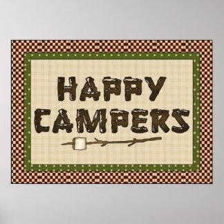 Cute Camping Poster
