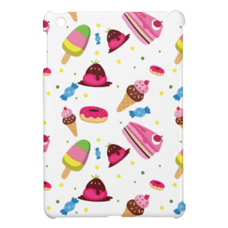 Cute candy and sweet colored pattern cover for the iPad mini