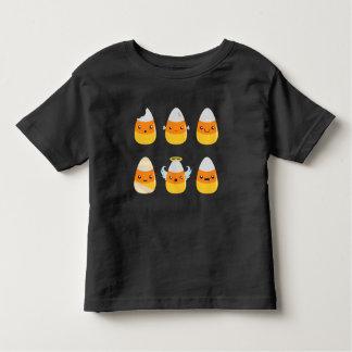 Cute Candy Corn Emojis Toddler T-shirt