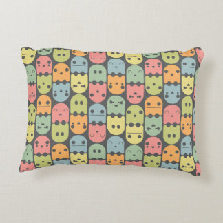 Cute Candy Ghost Pattern Pillow