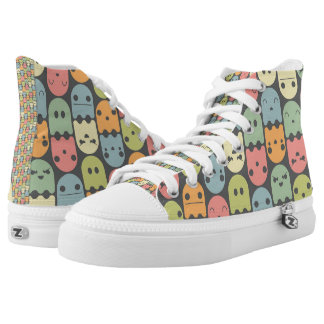 Cute Candy Ghost Pattern Shoes