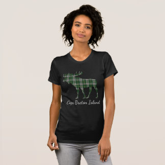 Cute Cape Breton Island moose tartan  shirt