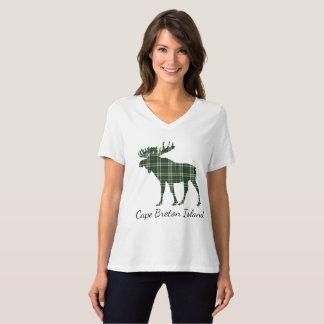 Cute Cape Breton Island moose tartan  shirt