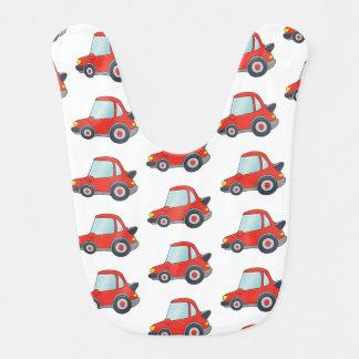 Cute Car Pattern Design Bib