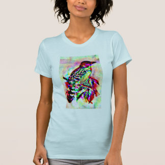 cute caribbean vacation bird picture tshirt design