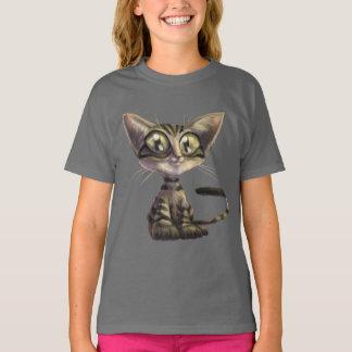 Cute Caricature Cat T-Shirt