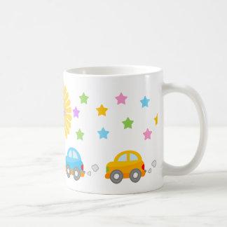 Cute Cars Coffee Mug