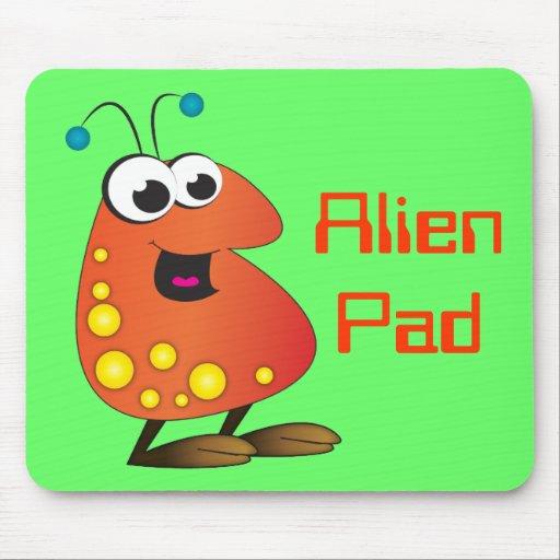 Cute Cartoon Alien Mousepads