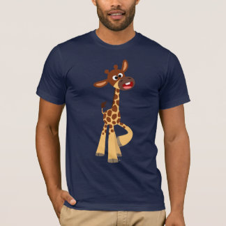 Cute Cartoon Baby Giraffe T-Shirt