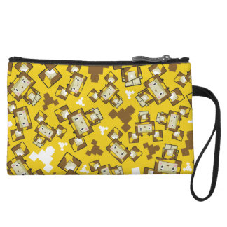 Cute Cartoon Blockimals Giraffe Clutch Bag