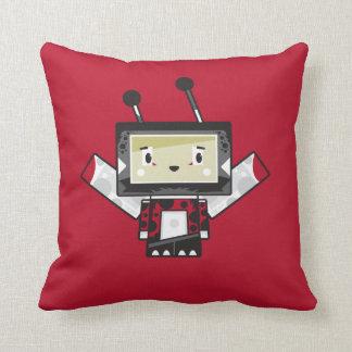 Cute Cartoon Blockimals Ladybird Cushion