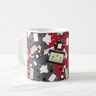 Cute Cartoon Blockimals Ladybird Mug