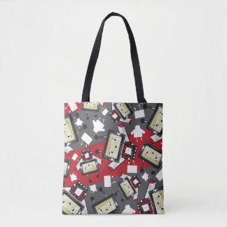 Cute Cartoon Blockimals Ladybird Tote Bag