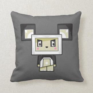 Cute Cartoon Blockimals Panda Bear Cushion