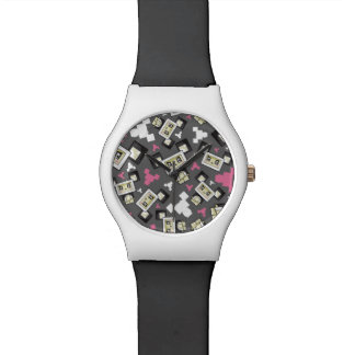 Cute Cartoon Blockimals Panda Bear Watch