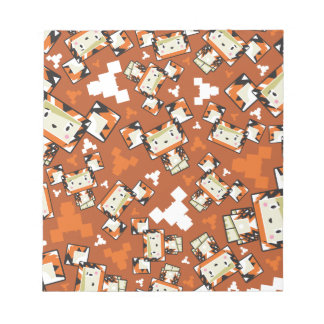 Cute Cartoon Blockimals Tiger Notepad