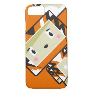 Cute Cartoon Blockimals Tiger Phone Case