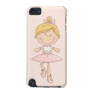Cute Cartoon Blonde Ballerina iPod Touch (5th Generation) Cases