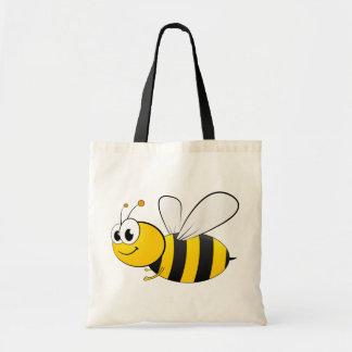 Cute Cartoon Bumble Bee Tote Bag