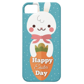 Cute cartoon bunny rabbit easter greetings case for the iPhone 5