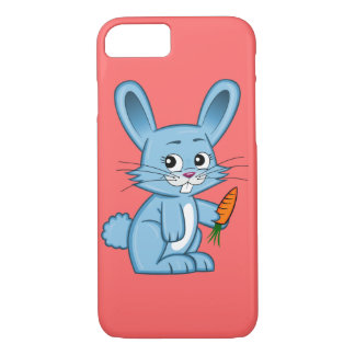 Cute Cartoon Bunny with Carrot iPhone 7 Case