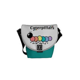 Cute Cartoon Caterpillars Messenger Bag