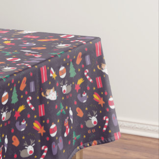 Cute cartoon Christmas bundle - Xmas gifts Tablecloth