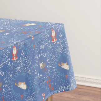 Cute cartoon Christmas Santa Clause - Xmas gifts Tablecloth