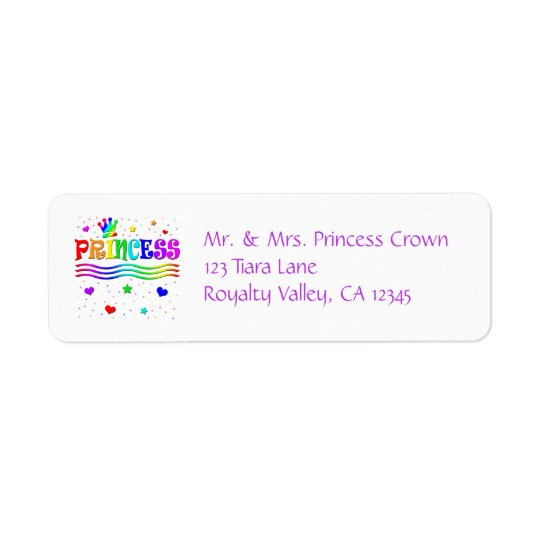 Cute Cartoon Clip Art Rainbow Princess Tiara