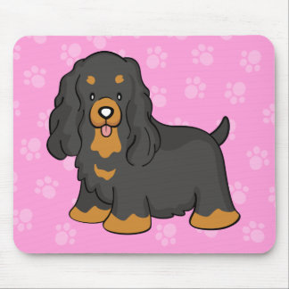 Cute Cartoon Cocker Spaniel Mousepad