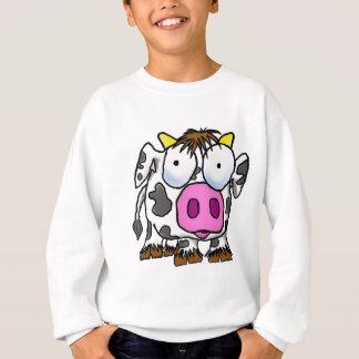 Cute Cartoon Cow Sweatshirt