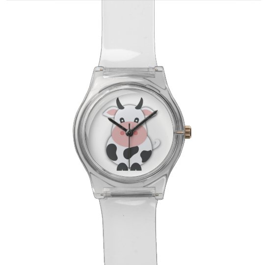 Cute Cartoon Cow Watches