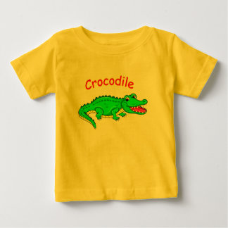 Cute cartoon crocodile baby T-Shirt
