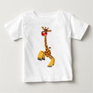 Cute Cartoon Dancing Giraffe Baby T-Shirt