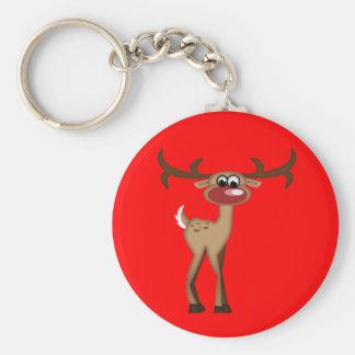 Cute Cartoon Deer Keychain